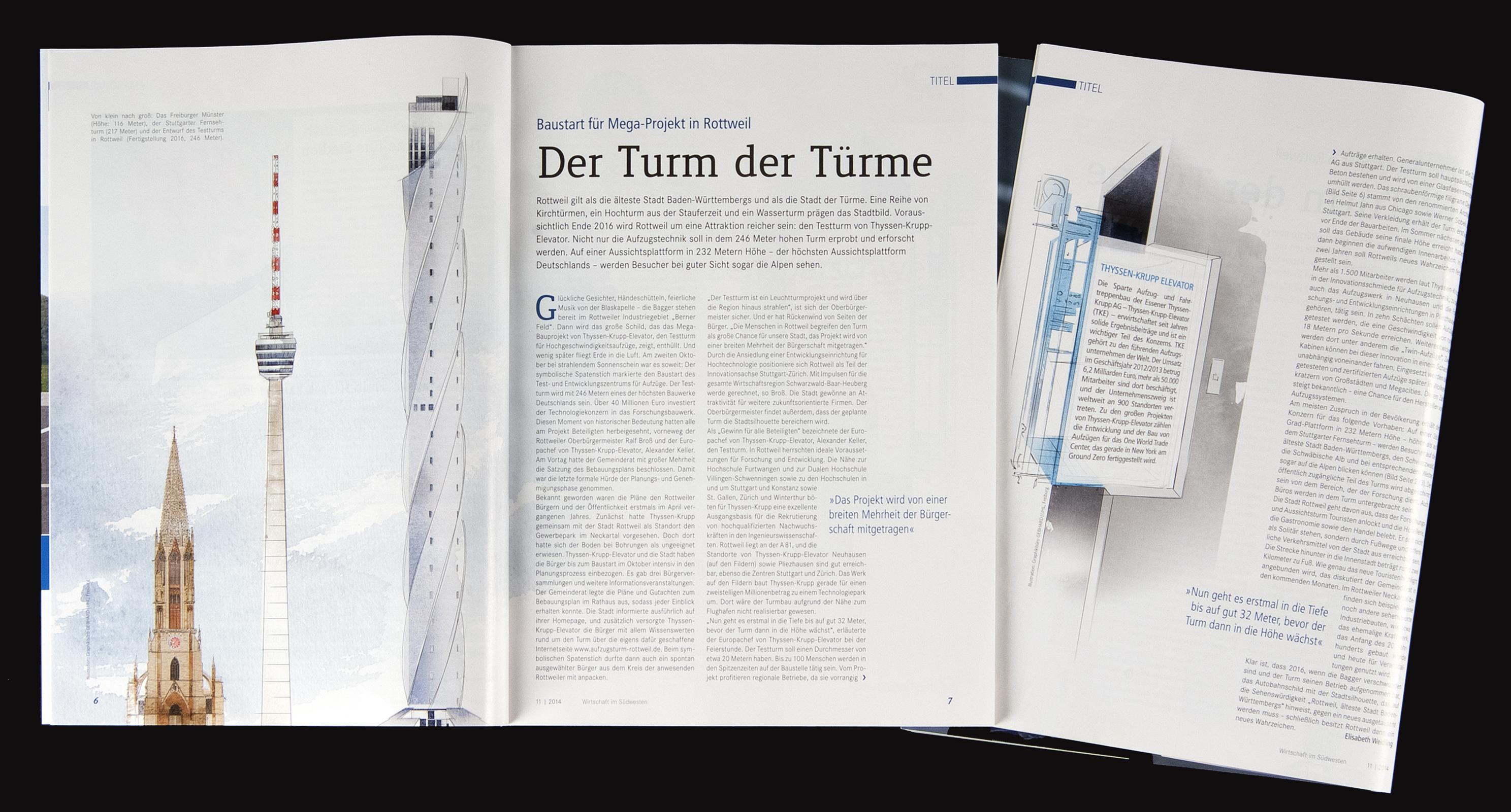 IHK Magazin U2013 Wirtschaft Im Südwesten: